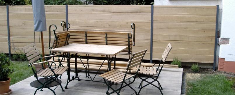 z une sichtschutz sonderanfertigung aus metall oder holz f r gartenbau. Black Bedroom Furniture Sets. Home Design Ideas